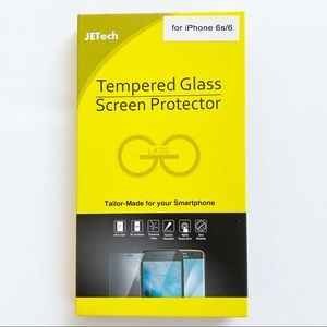 JETech iPhone 6s/6 Tempered Glass Screen Protector